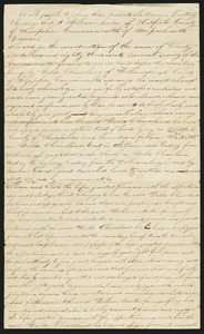 Deed, William Morton to Waldo Cleaveland of Williamsburgh, 1834 (unsigned)