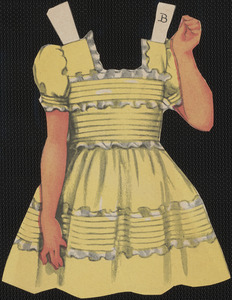 Bess paper doll clothing