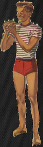 Laurie paper doll
