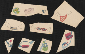 Betty Grable paper doll accessories