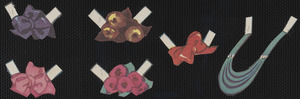 Babs paper doll accessories