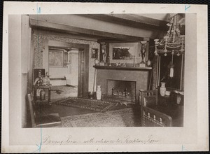 Dining room - with entrance to reception room