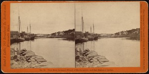 View from Jackson's Wharf, of Hardscrabble, and East Braintree Bridge