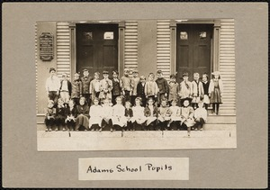 Adams School pupils