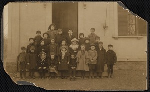 Adams School, about 1899. Miss Mathewson - teacher