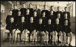 Photograph [realia], 1942 basketball team