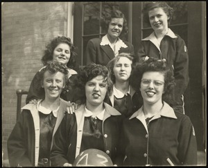 Photograph [realia], 1943 girls basketball team