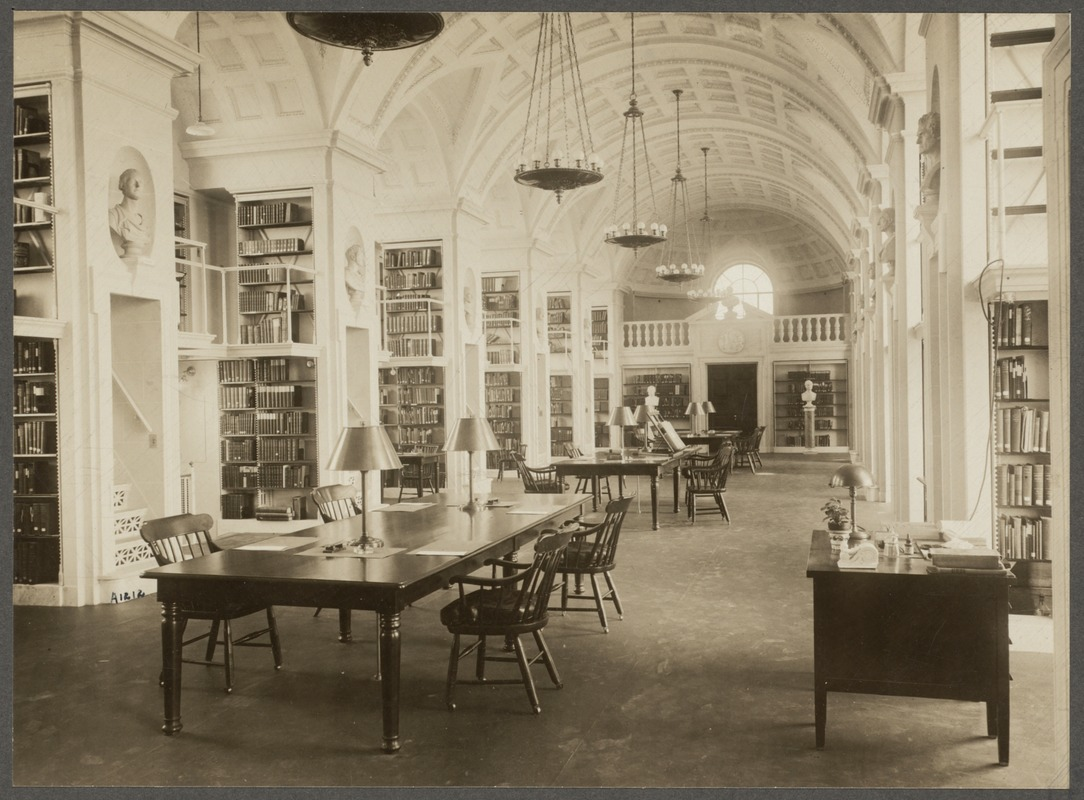 Massachusetts. Boston. Boston Athenaeum