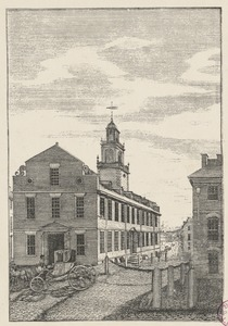 Old State House in 1791