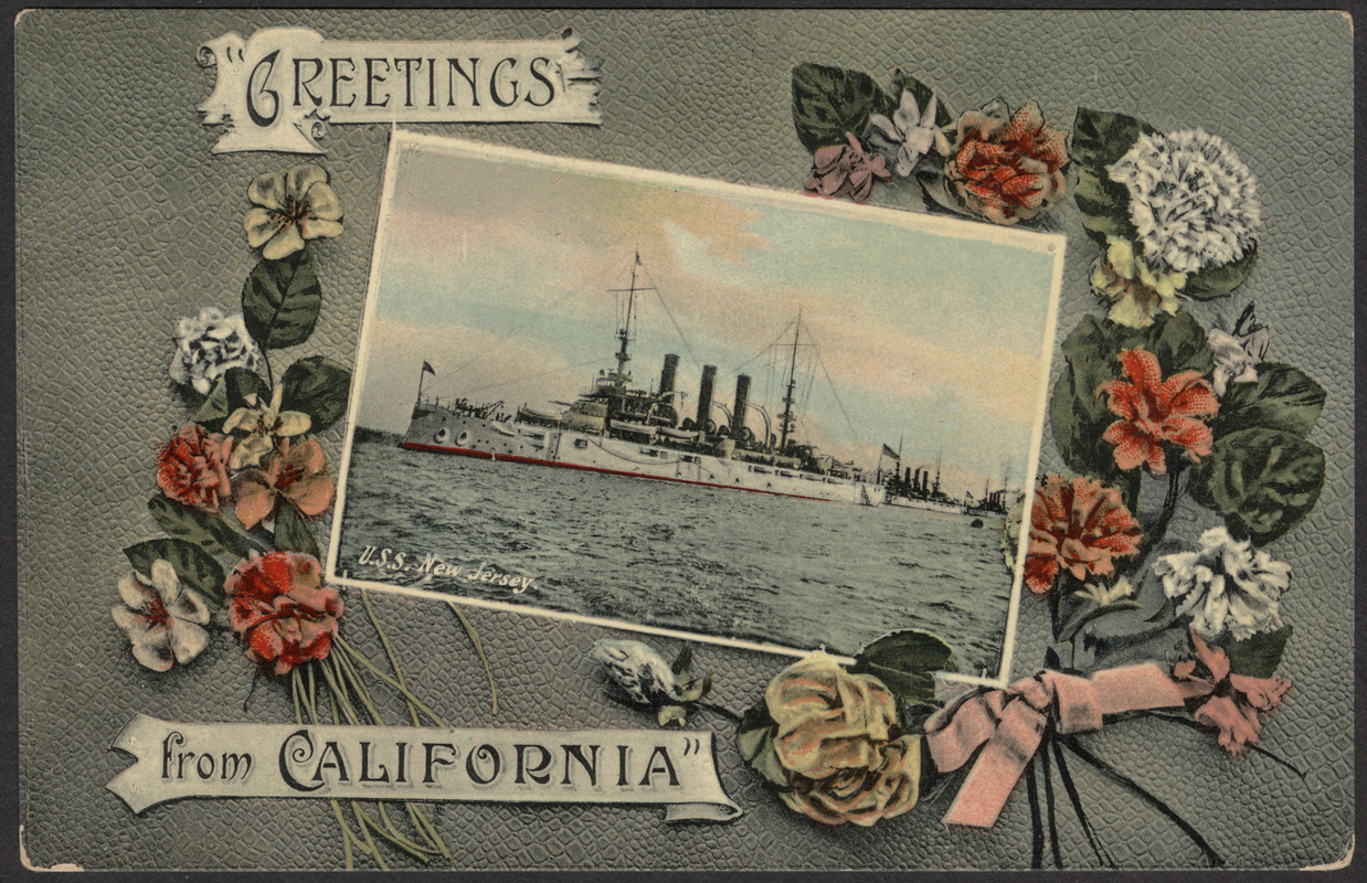 """Greetings from California"""
