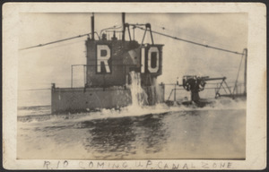 R-10 coming up canal zone