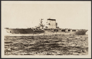 U.S.S. Lexington- sunk in the Battle of the Coral Sea
