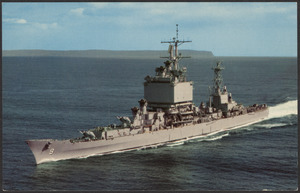 USS Long Beach (CGN-9), world's first nuclear powered surface warship
