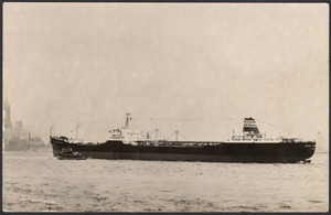 The 46,000 DWT tanker Mount Vernon Victory, on her maiden arrival in New York