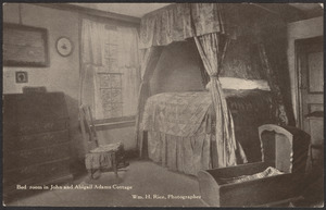 Bedroom in John Adams cottage