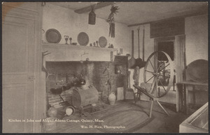 Kitchen in John Adams cottage