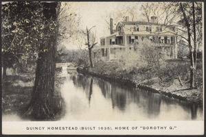 Quincy homestead (home of Dorothy Quincy)