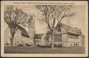 Bethany Congregational Church and Thomas Crane Public Library