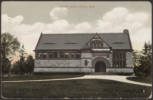 Public library, Quincy