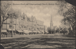 Business block, Congregational Church