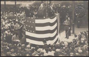 President Taft at Quincy Station