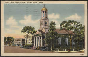 First Parish Church, Quincy Square