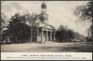 First Church (Unitarian) Quincy, Mass.