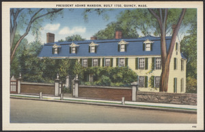 President Adams mansion, built 1732