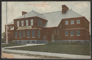 Massachusetts Fields School, Wollaston, Mass