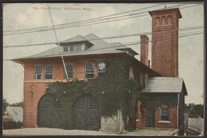 The fire station, Wollaston, Mass