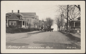 Apthorp St., Wollaston, Mass