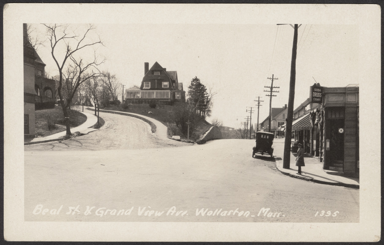 Beal St. and Grandview Ave., Wollaston, Mass