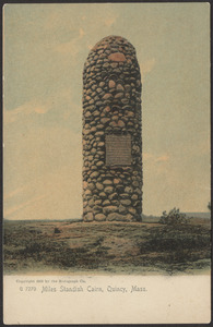 Miles Standish Cairn, Quincy, Mass.