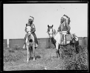 American Indians - Chief Little Elk and Chief Turkey Leg