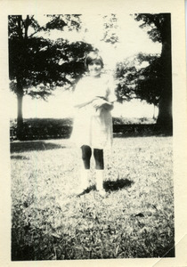Young girl at Abbot Academy