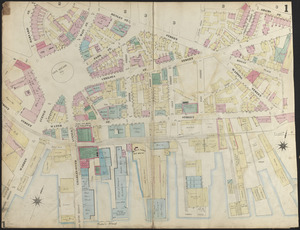 Insurance map of Charlestown : portions of Roxbury (now annexed to Boston) and Cambridge : 1868 : corrected Nov. 1871