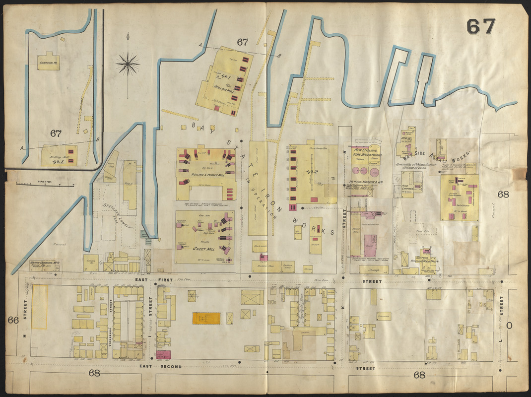 Insurance map of Boston vol. 3 (South & East Boston)