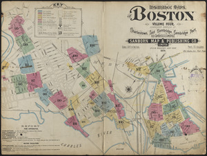 Insurance maps of Boston volume 4