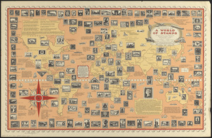 The pictorial map, a world of stamps
