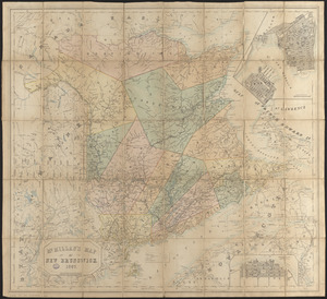 McMillan's map of New Brunswick, 1867