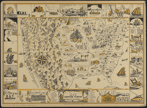 Van Loon's map of the United States