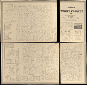 Map of Perry County, Ohio