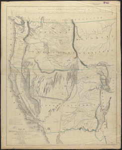 Map of Oregon and upper California, from the surveys of John Charles Frémont and other authorities