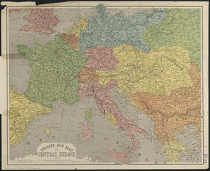 Philips' new map of Central Europe