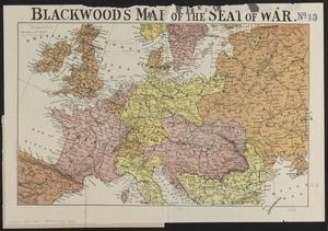 Blackwood's map of the seat of war