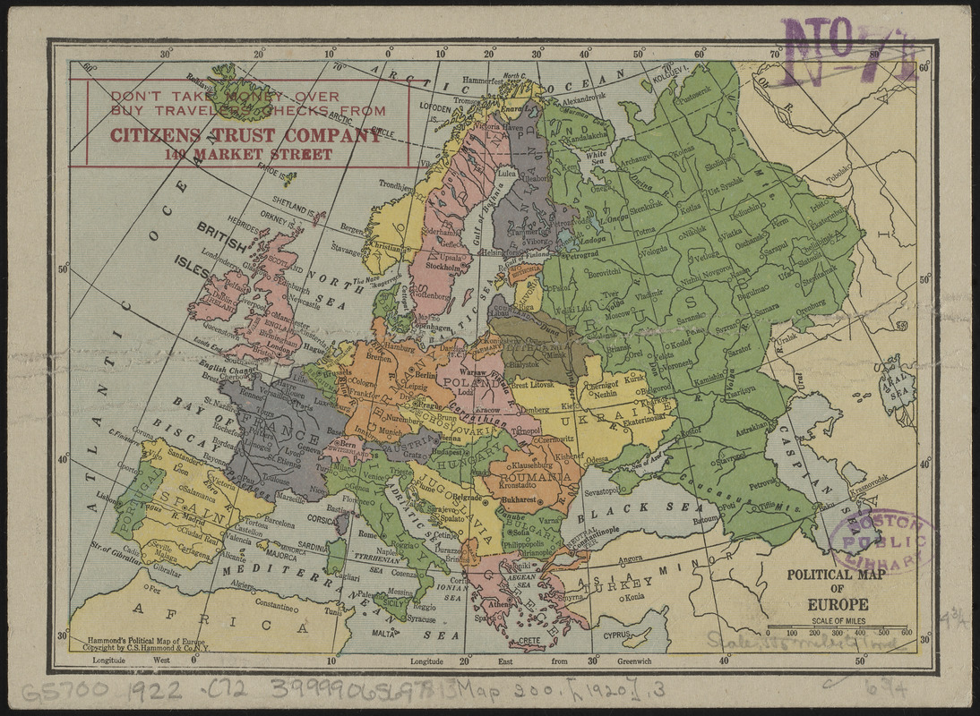 Political map of Europe - Digital Commonwealth on crete on a map of europe, war map of europe, high resolution map of europe, clear map of europe, need map of europe, old world map of europe, downloadable map of europe, london on map of europe, vintage map of europe, latest map of europe, study map of europe, google earth map of europe, political map of western europe, line map of europe, full screen map of europe, detailed map of europe, printable blank map of europe, the physical map of europe, ancient old map of europe, complete map of europe,