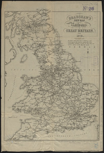 Bradshaw's new map of the railways in Great Britain for 1872