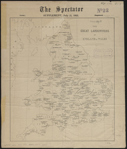 The great landowners of England & Wales