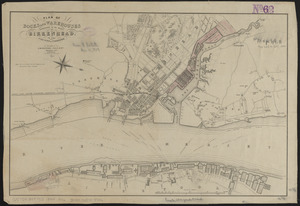 Plan of docks and warehouses proposed to be made at Birkenhead, in the County of Chester