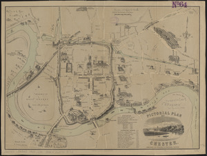 Pictorial plan of Chester